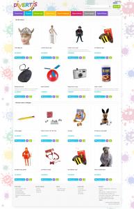Noul design DivertisShop.ro